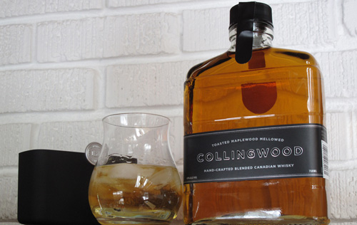 Collingwood Canadian Whisky in bottle