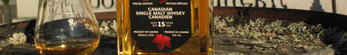 Glen Breton - single malt made in Canada