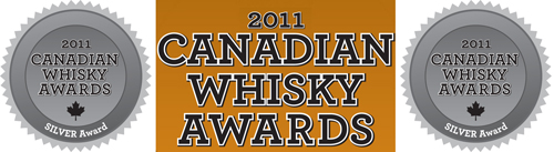 Canadian Whisky Awards 2011 Pendleton 1910 silver medalist