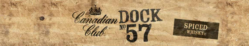 CC Dock 57 spiced Canadian whisky