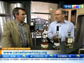 Davin de Kergommeaux and Jeff Hopper discuss Canadian whisky on CTV