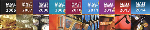 Nine years of Malt Whisky Yearbook