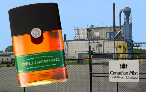 Collingwood 21 year old Canadian rye