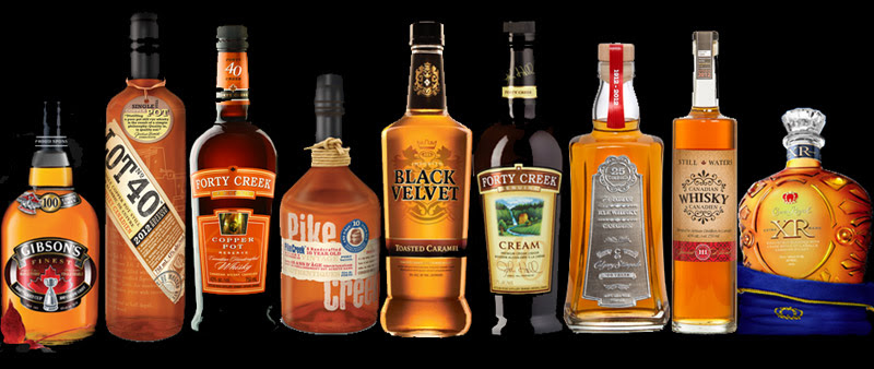 Top quality Canadian Whisky