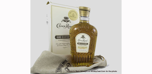 Crown Royal Hand Selected=