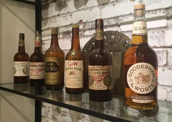 Gooderham and Worts Canadian Whisky