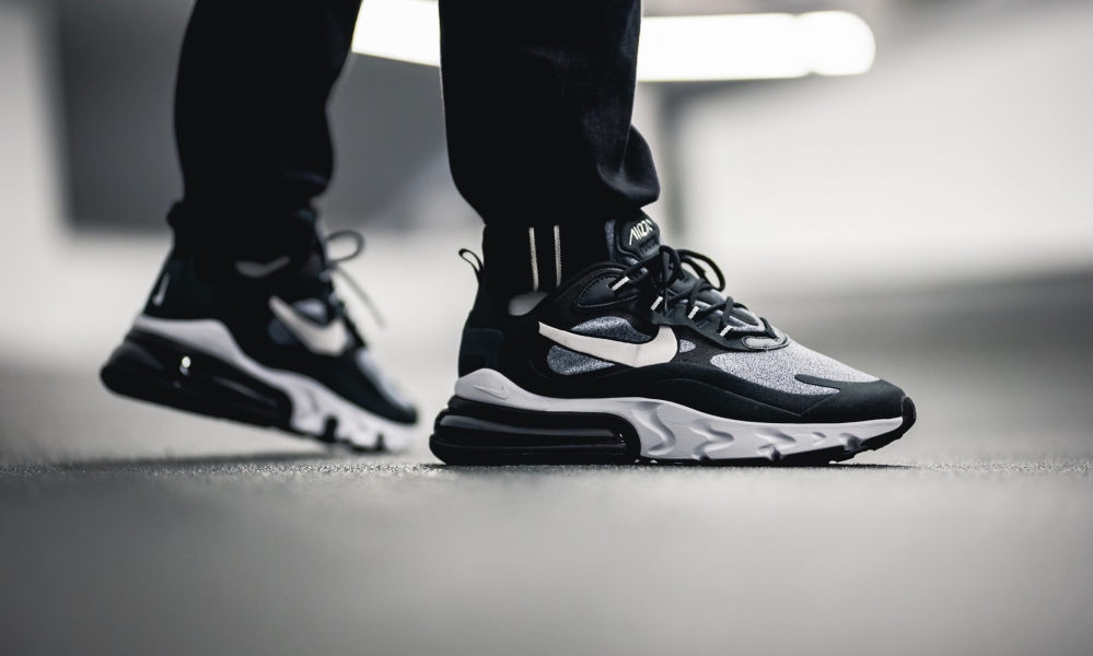 air max 270 react noir et gris