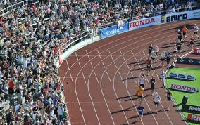 Friidrottsarenan Stockholm Stadion där DIF tidigare spelade sina hemmamatcher