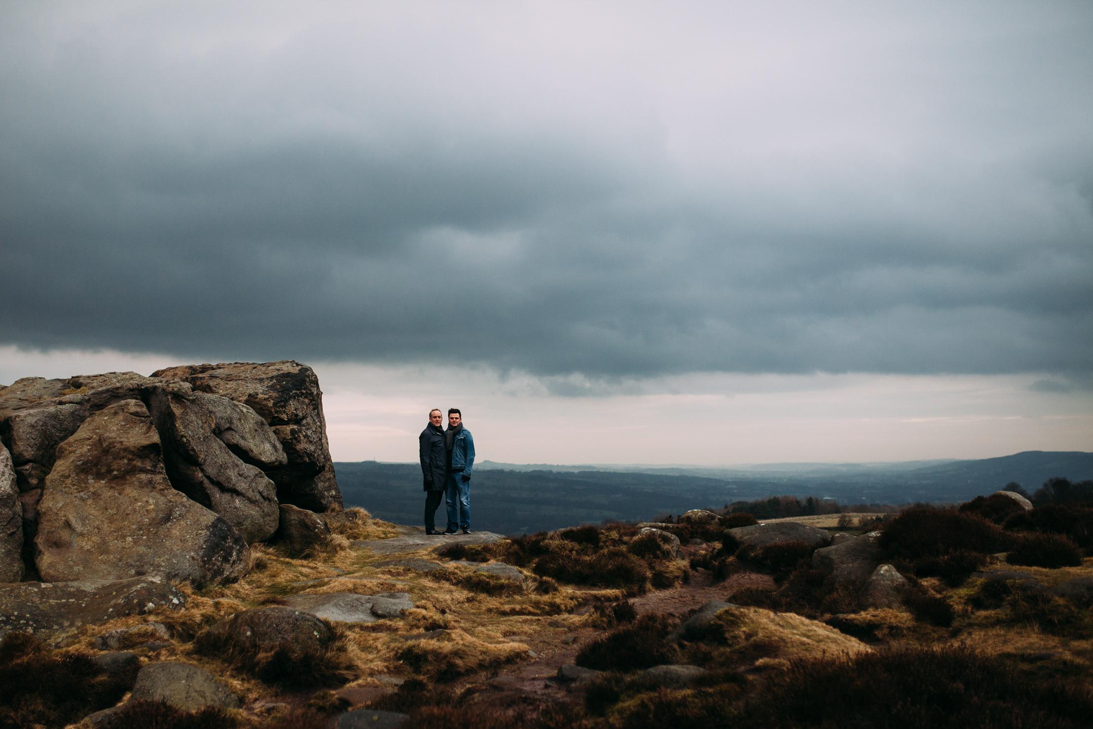 Ilkley Moor Pre Wedding -18