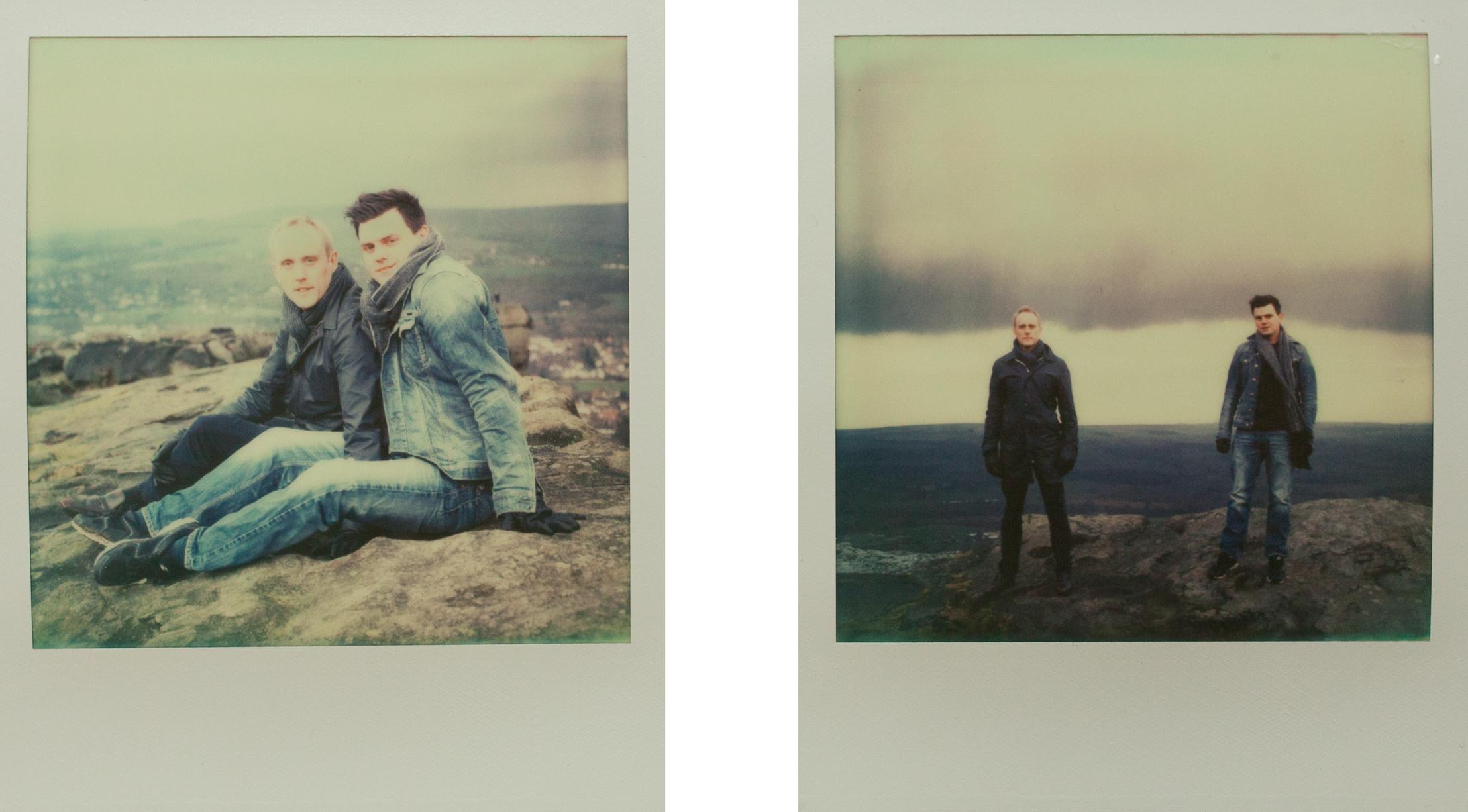 Ilkley Moor Pre Wedding Polaroid-2