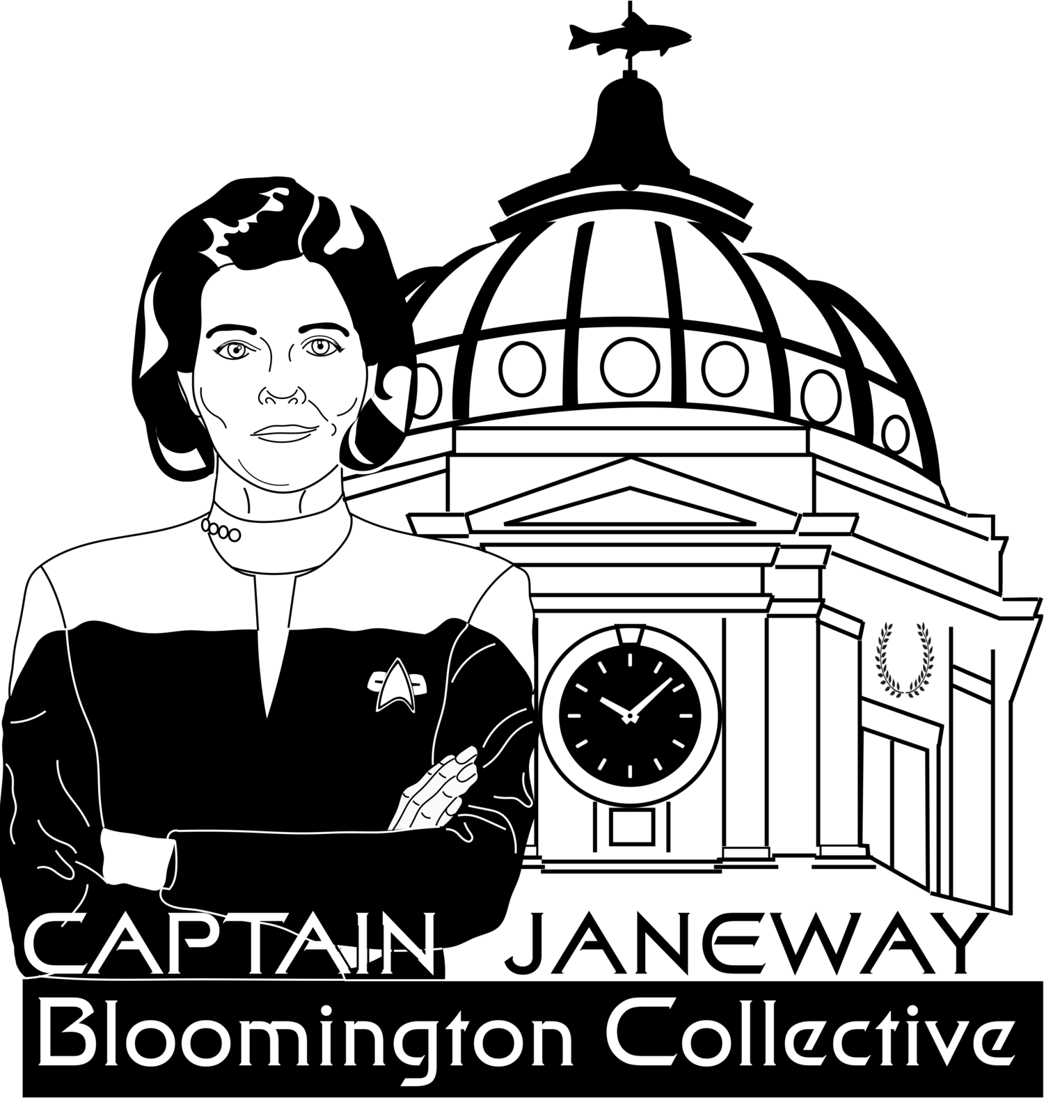 Captain Janeway Bloomington Collective