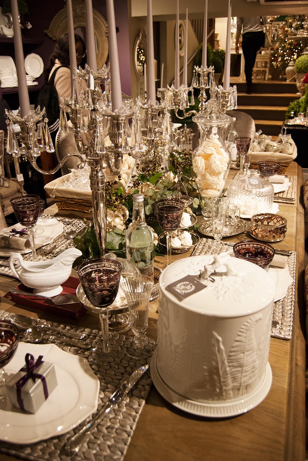 Glamorous table setting