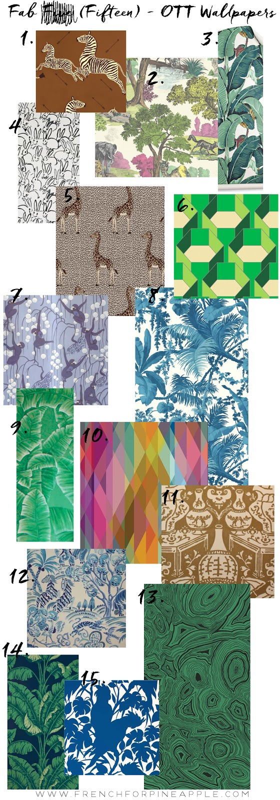 Fab Five Triple Whammy OTT Wallpapers - French For Pineapple Blog