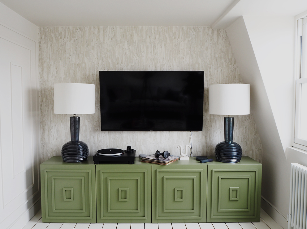 French For Pineapple Blog - Revamp Restyle Reveal Season 2 TV Room