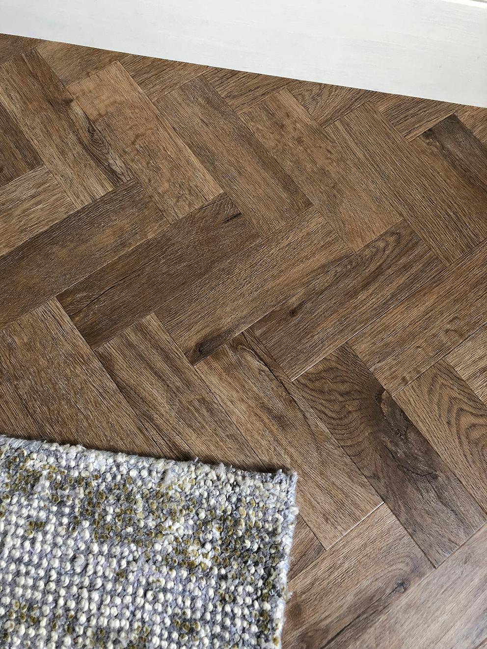 Amtico Flooring Installation AKA My Dream Parquet Floor - French For Pineapple Blog