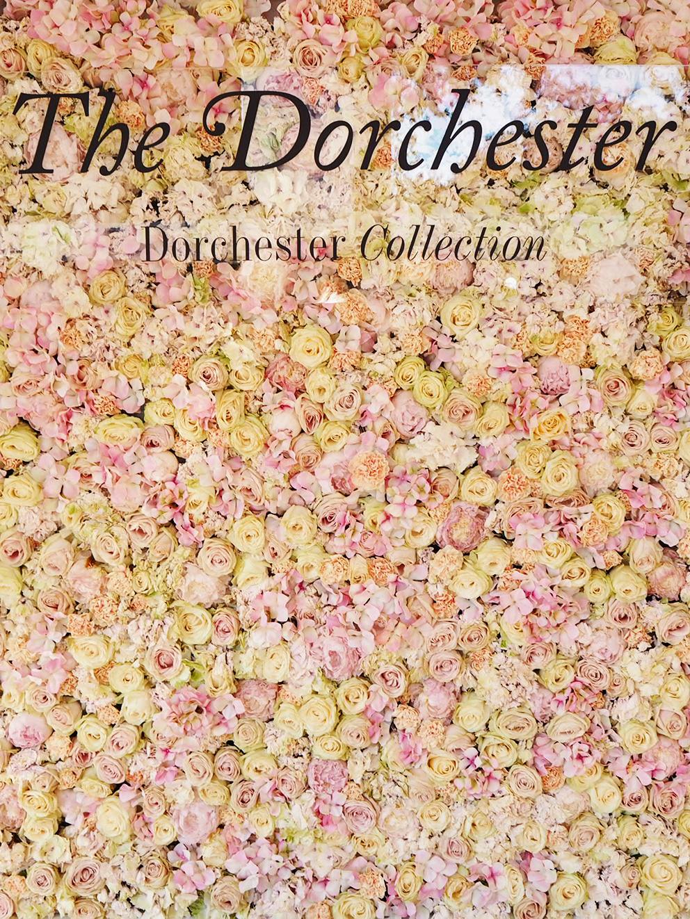 French For Pineapple Blog - RHS Chelsea Flower Show 2017 - Dorchester Pop-Up Bar Flower Wall