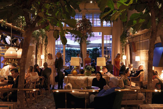 French For Pineapple Blog - Chiltern Firehouse Ladder Shed Bar - High Glam Tiki Chic