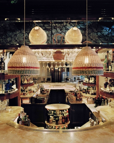 French For Pineapple Blog - Chiltern Firehouse Ladder Shed Bar - High-Glam Tiki Chic