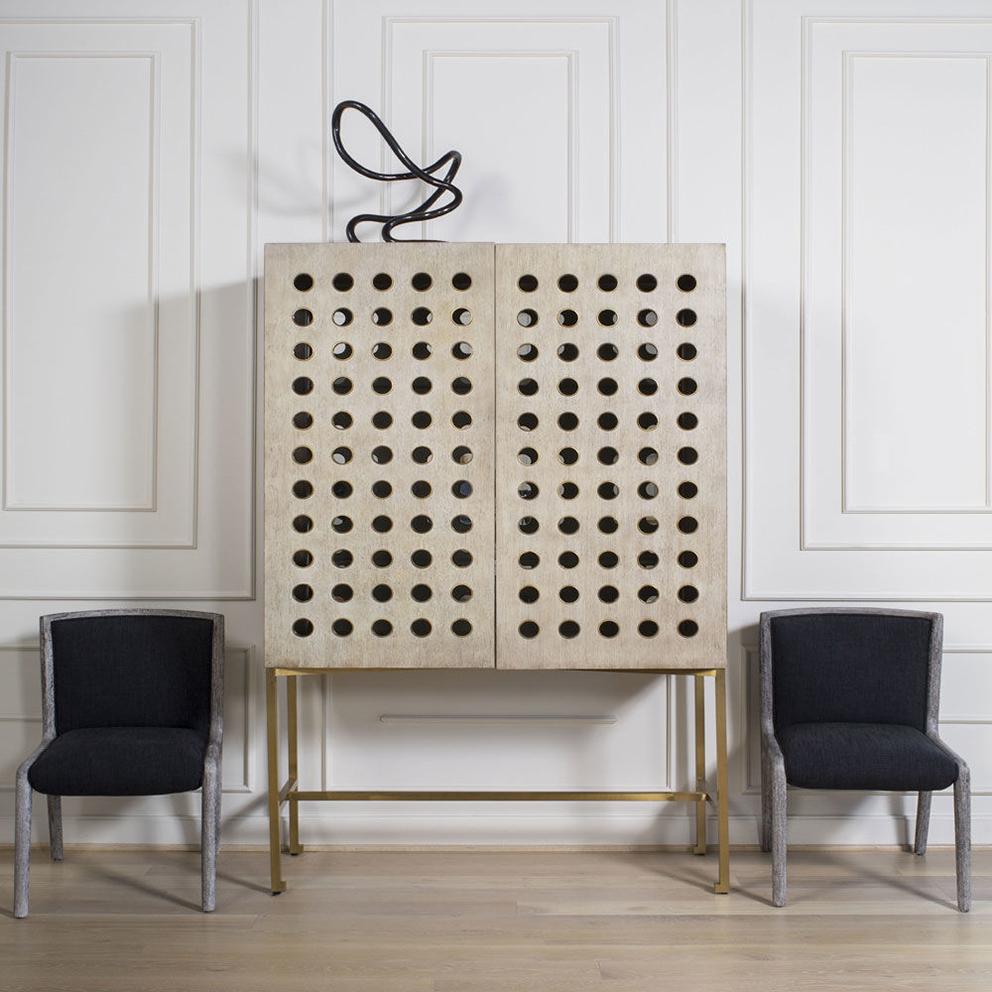 French For Pineapple Blog Kelly Wearstler Dillon Cabinet (Fantasy House Friday)