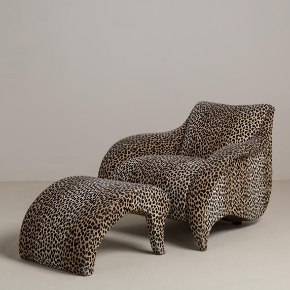 French For Pineapple Blog - Fantasy House Friday Talisman London Leopard Chair