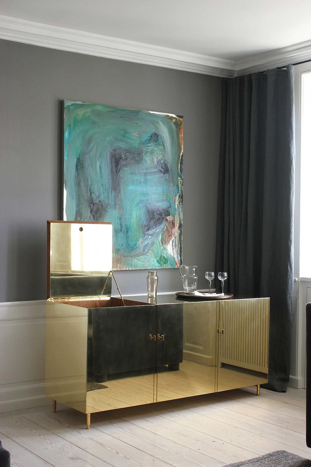 Studio Ilse Brass Cabinet - French For Pineapple Blog