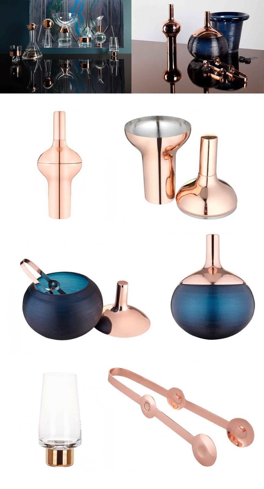 It's Fantasy House Friday and we've been having a heatwave in London, so obviously you need the most beautiful Cocktail Shaker, Ice Bucket, Tongs and High Ball Glasses you can find, right? All courtesy of Tom Dixon's Plum and Tank ranges.