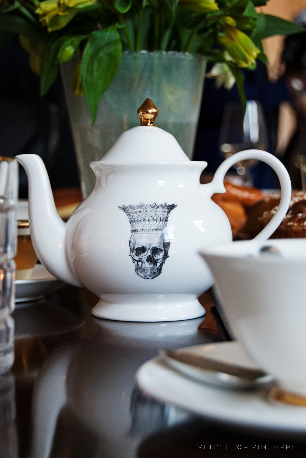 Skull With Crown Mini Teapot - French For Pineapple Blog