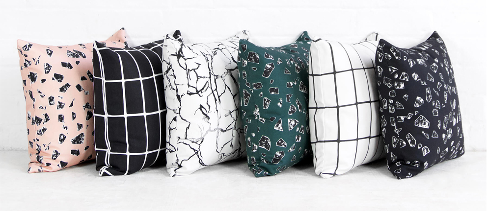 French For Pineapple Blog - Florrie + Bill The Studio Collection Cushion Collection