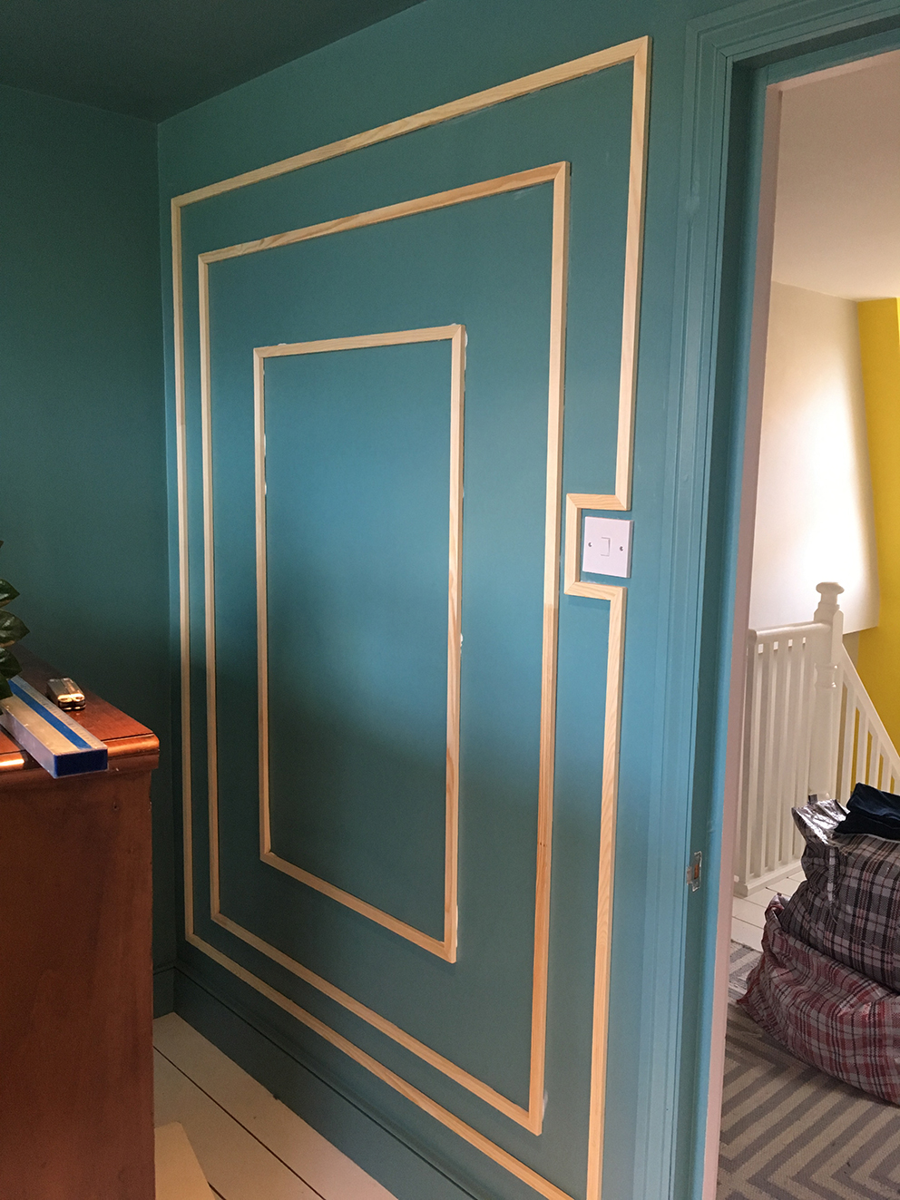 French For Pineapple Blog - Decorative Wall Moulding DIY