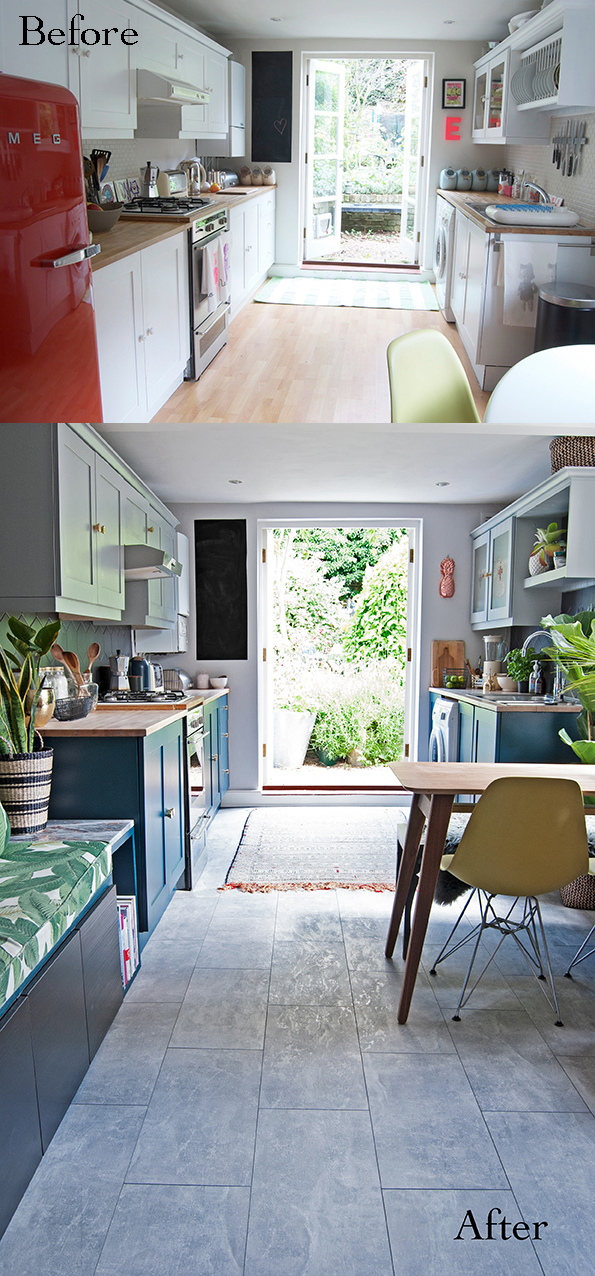 Kitchen Before and After French For Pineapple Blog