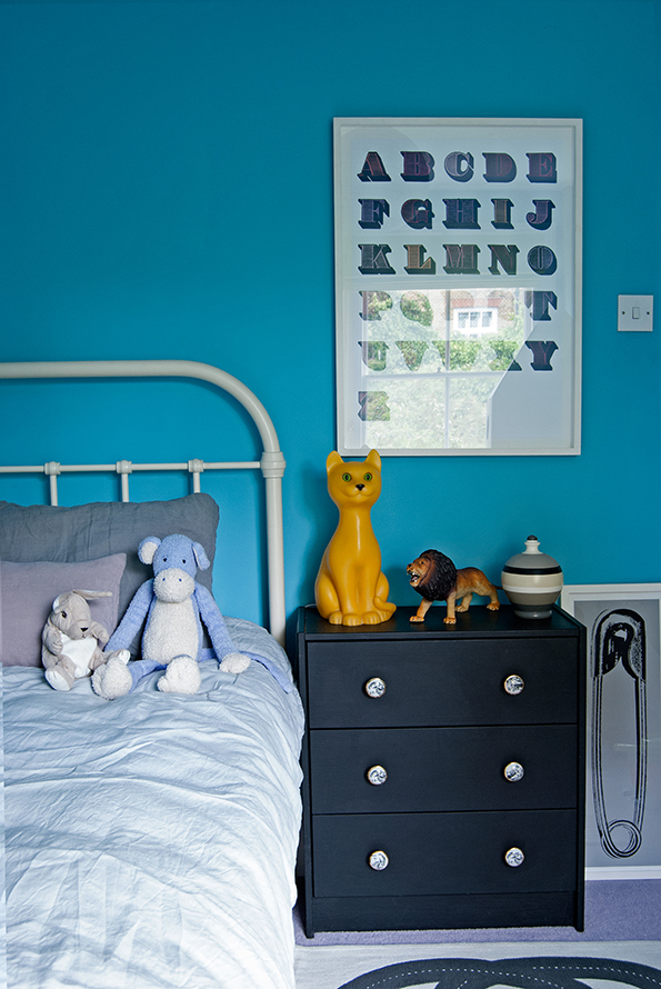 Blue Boys Room Makeover French For Pineapple
