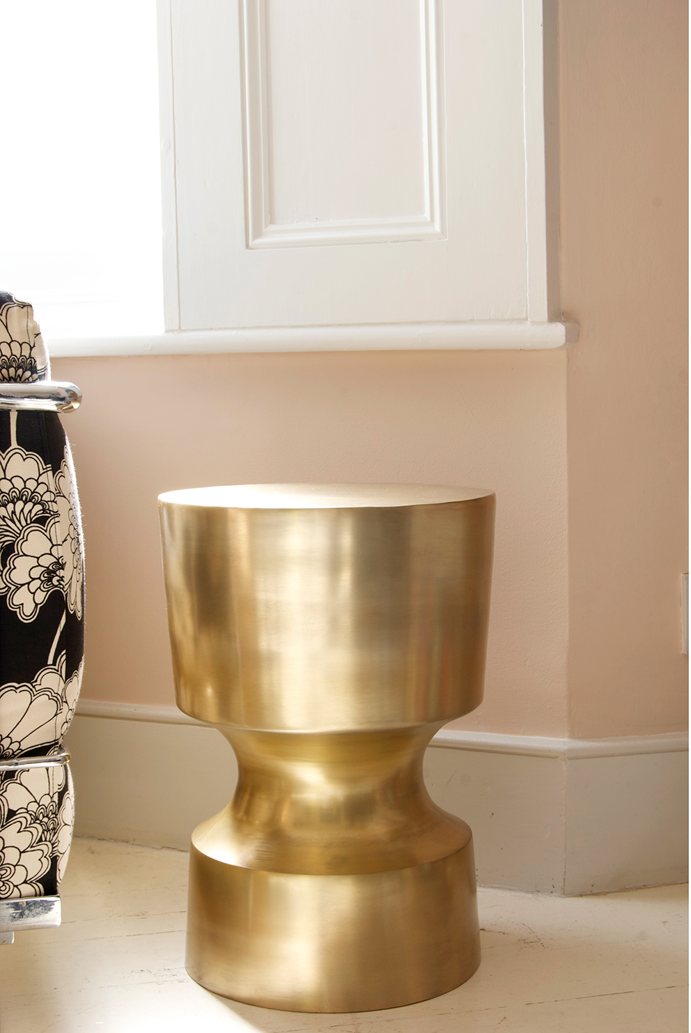 Brass side table - French For Pineapple blog