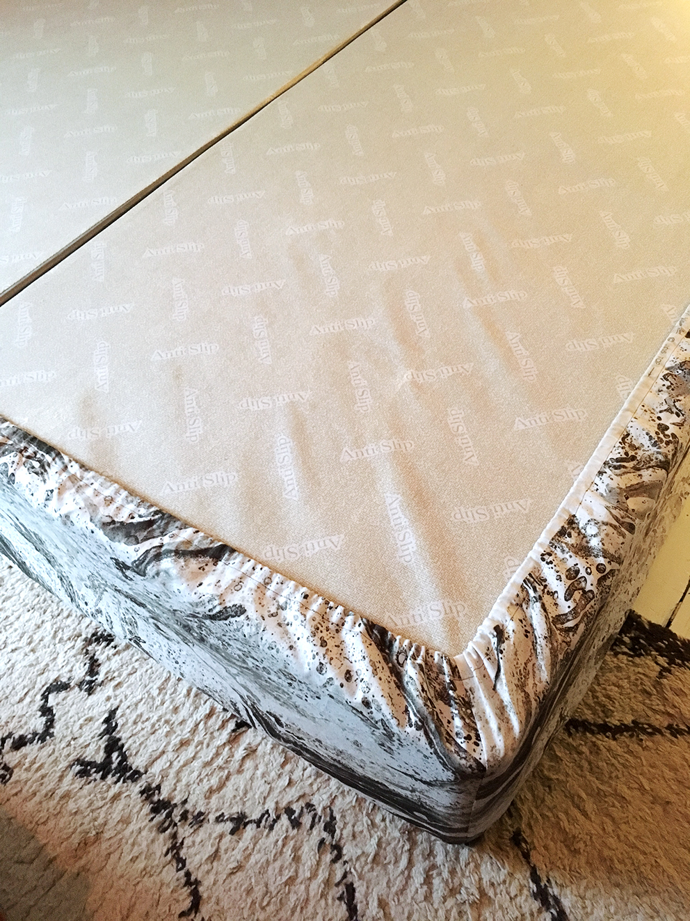 French For Pineapple Blog - Channel Tufted Headboard Tutorial