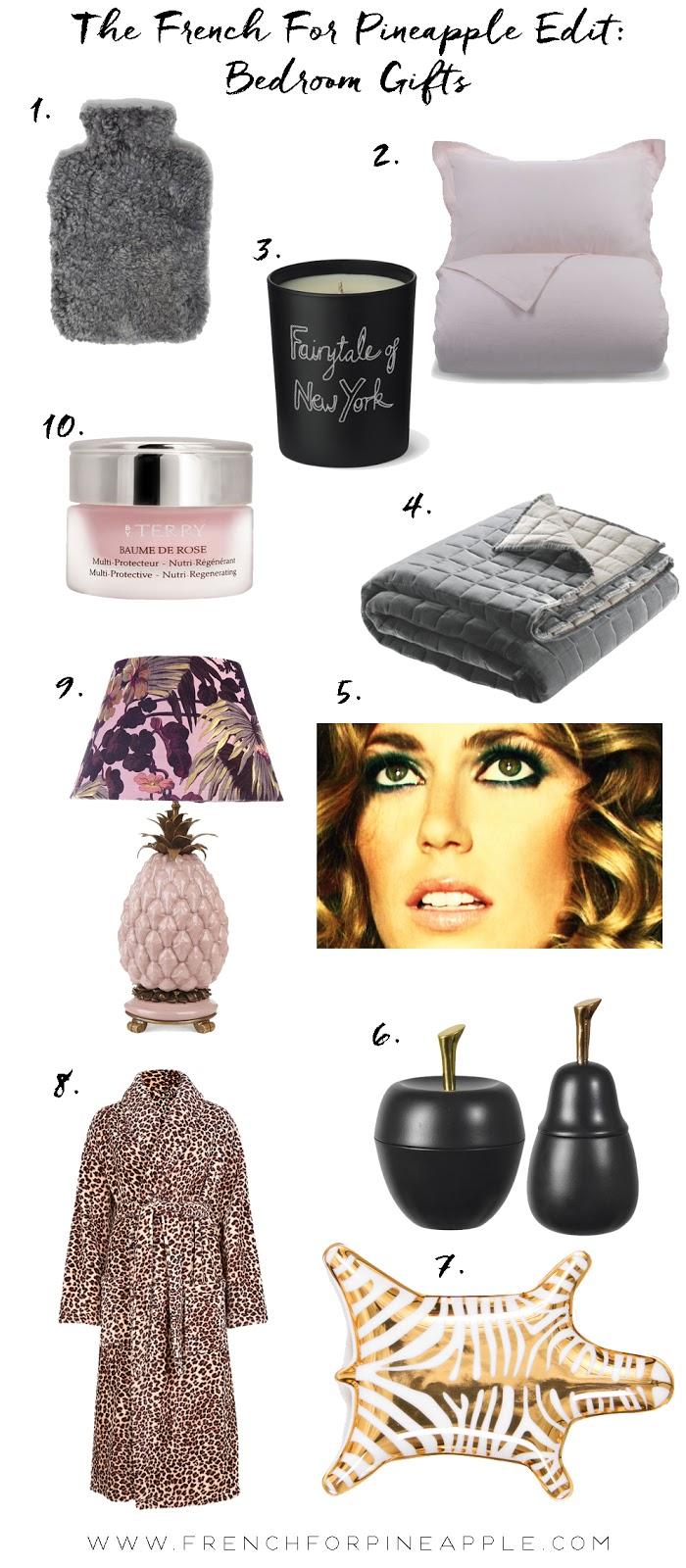French For Pineapple Blog - Bedroom Gift Guide