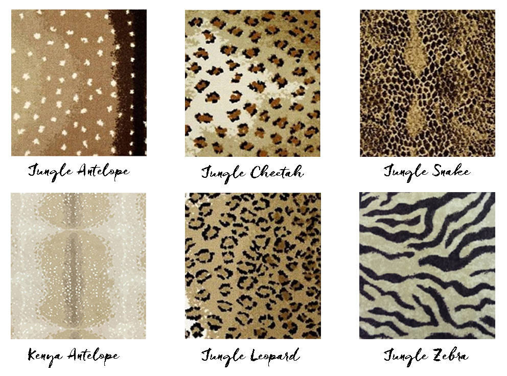 Animal Print Carpets - French For Pineapple Blog