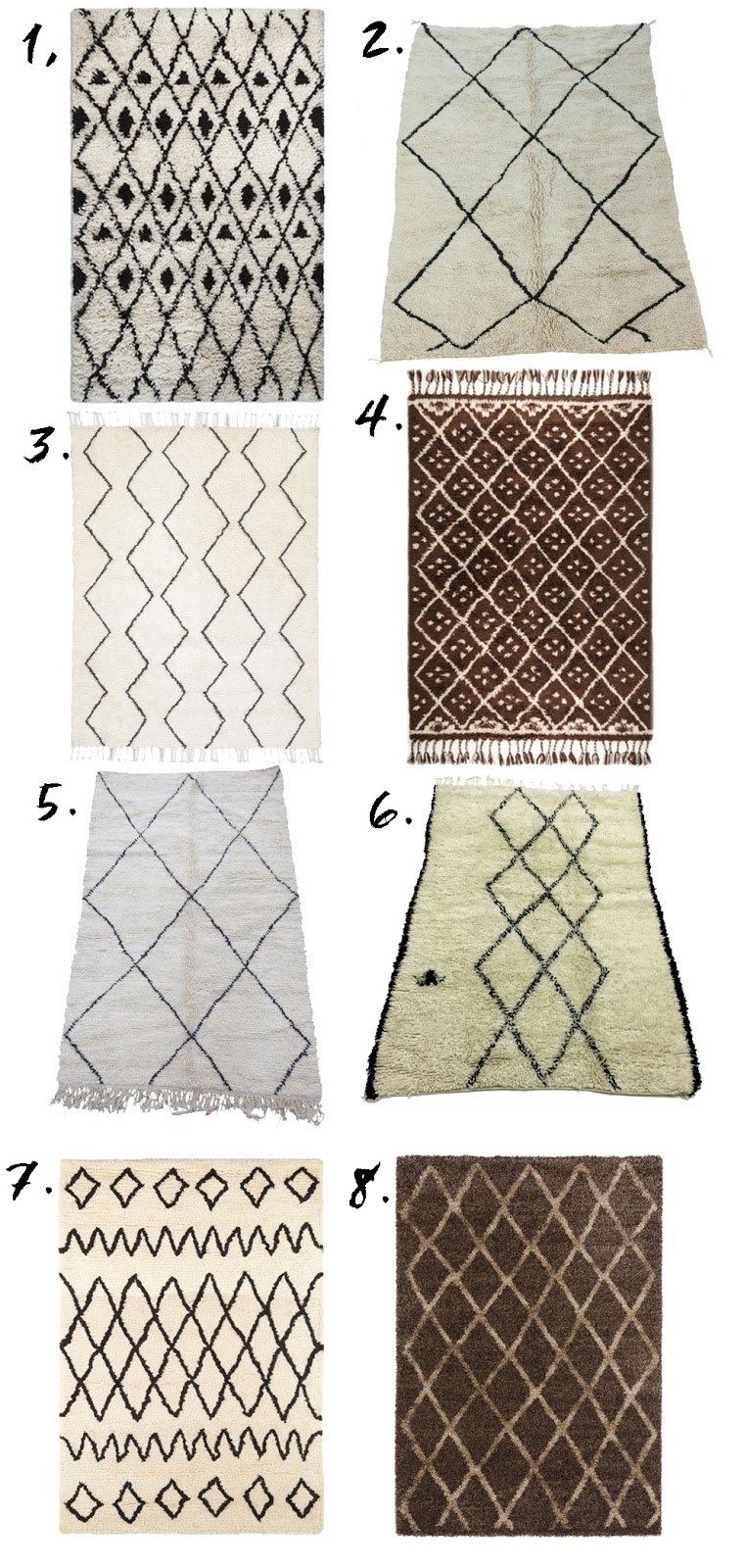 Beni Ourain Rugs - French For Pineapple Blog