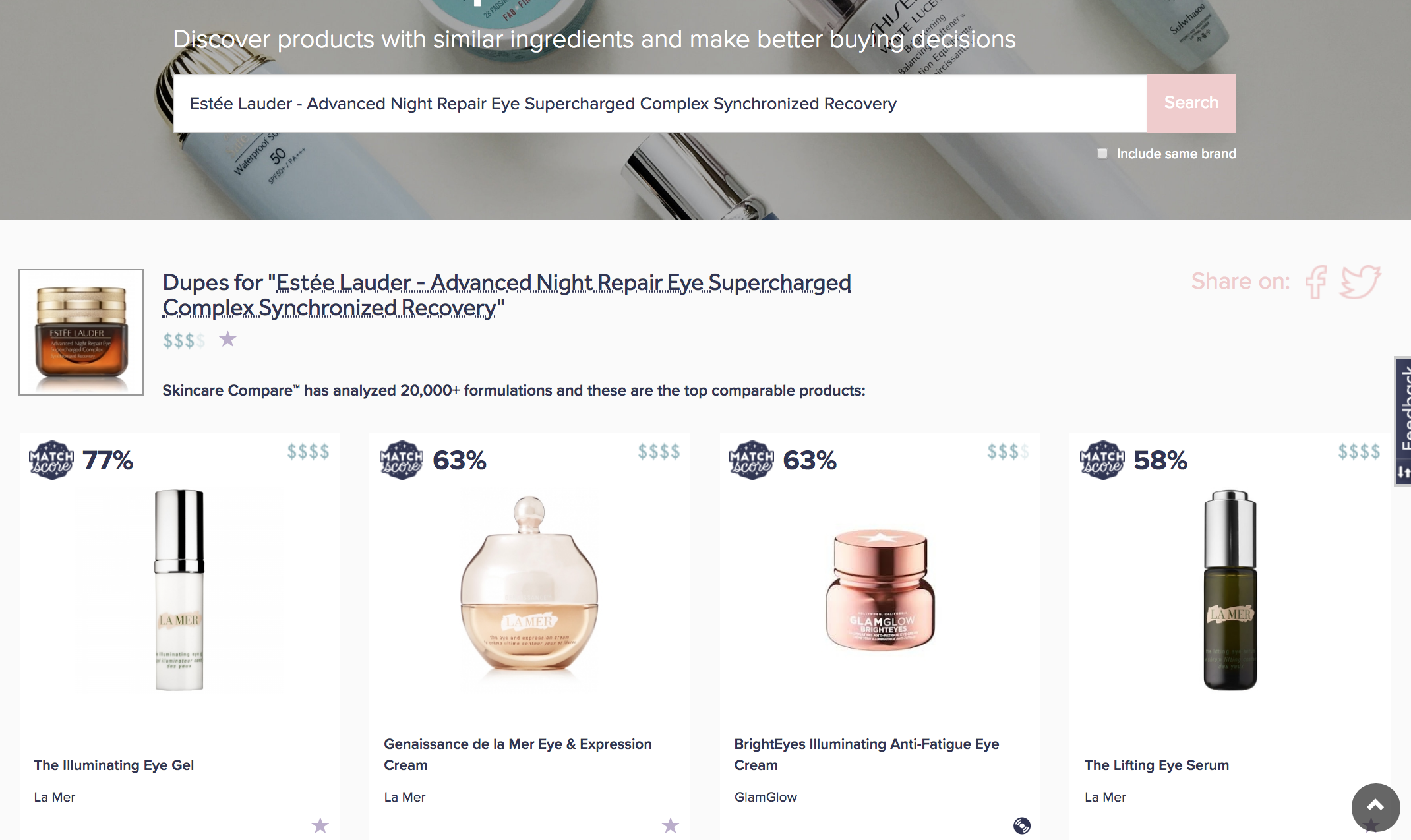 Finding A Dupe For Estee Lauder Advanced Night Repair Eye Complex Serum Dupe Talk