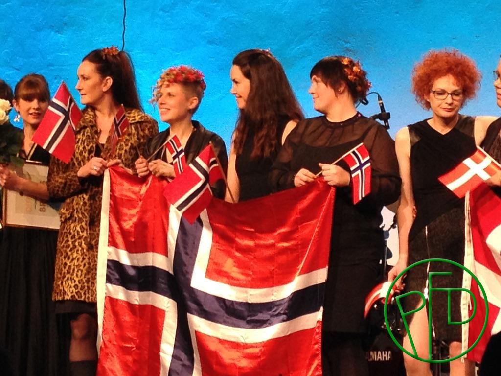 Onnea Norja! Congratulations Norway!
