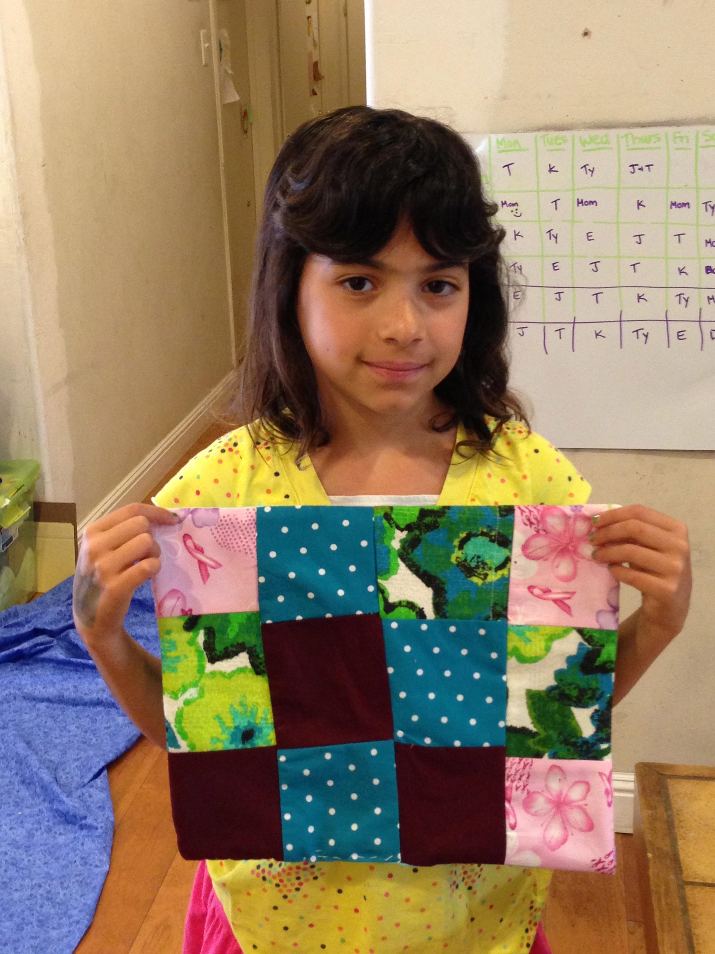 3rd grade quilt.
