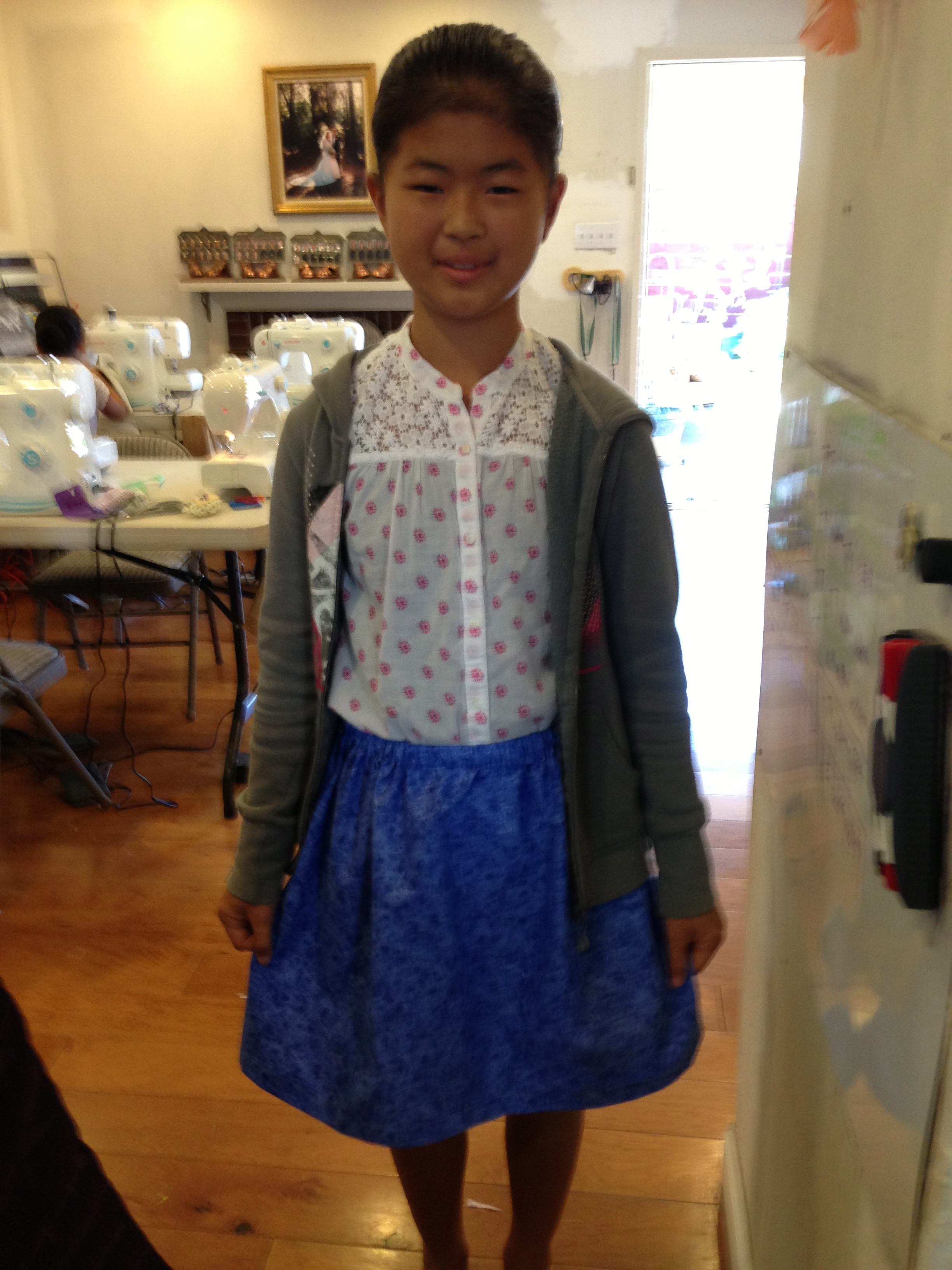 5th grade skirt.
