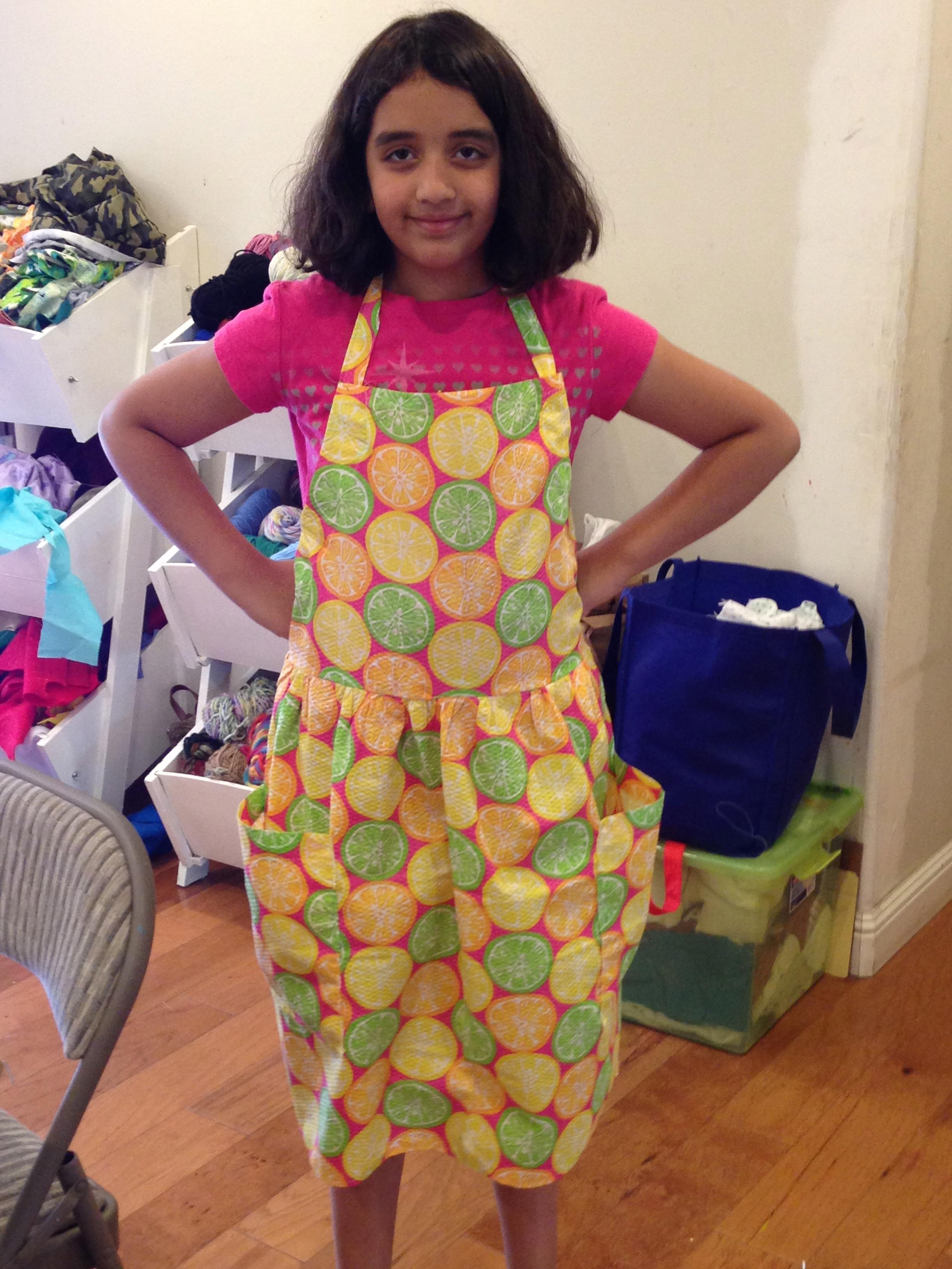 5th grade apron.