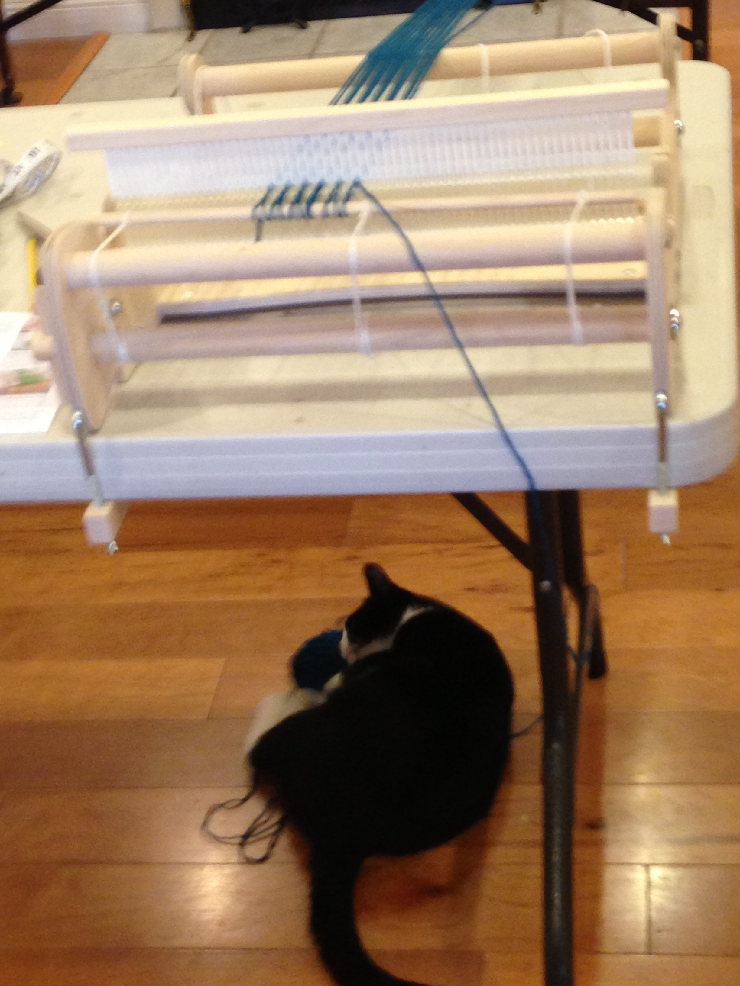 Too much help with the warping!