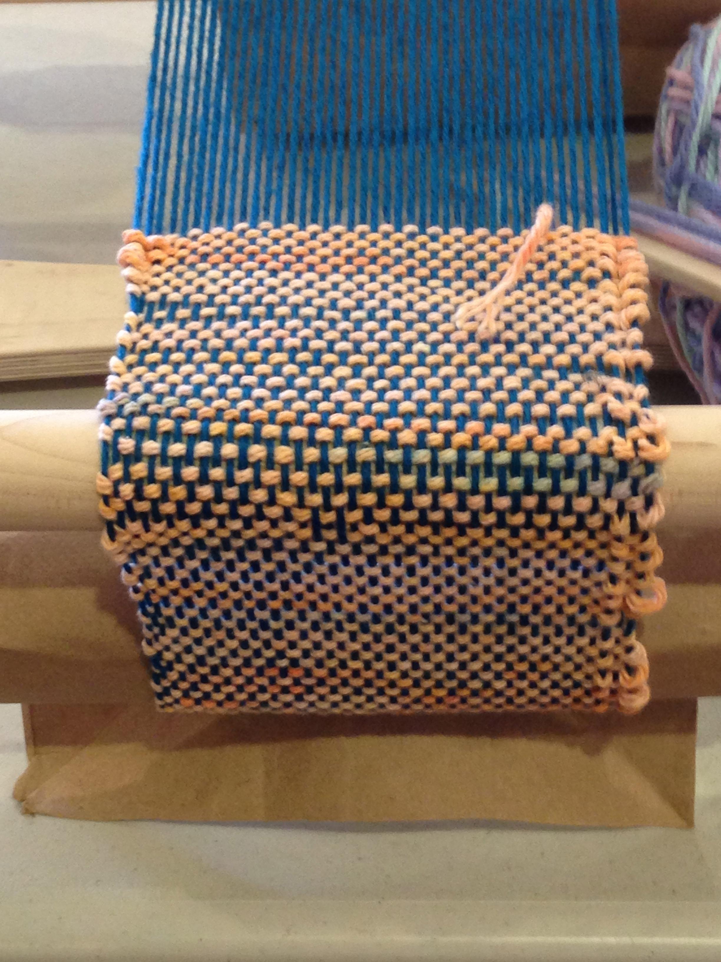 2nd grade weaving.