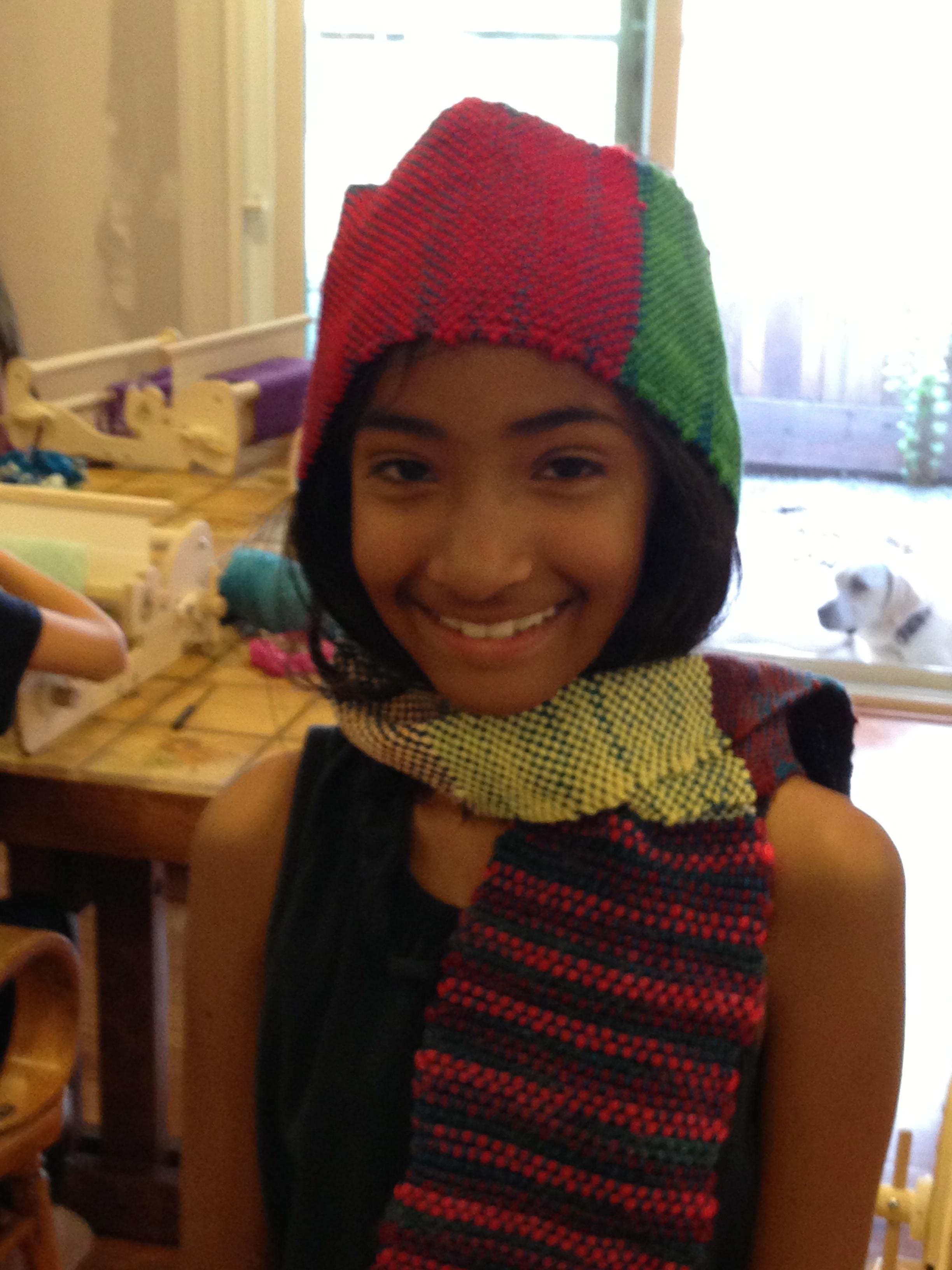 3rd grade scarf.