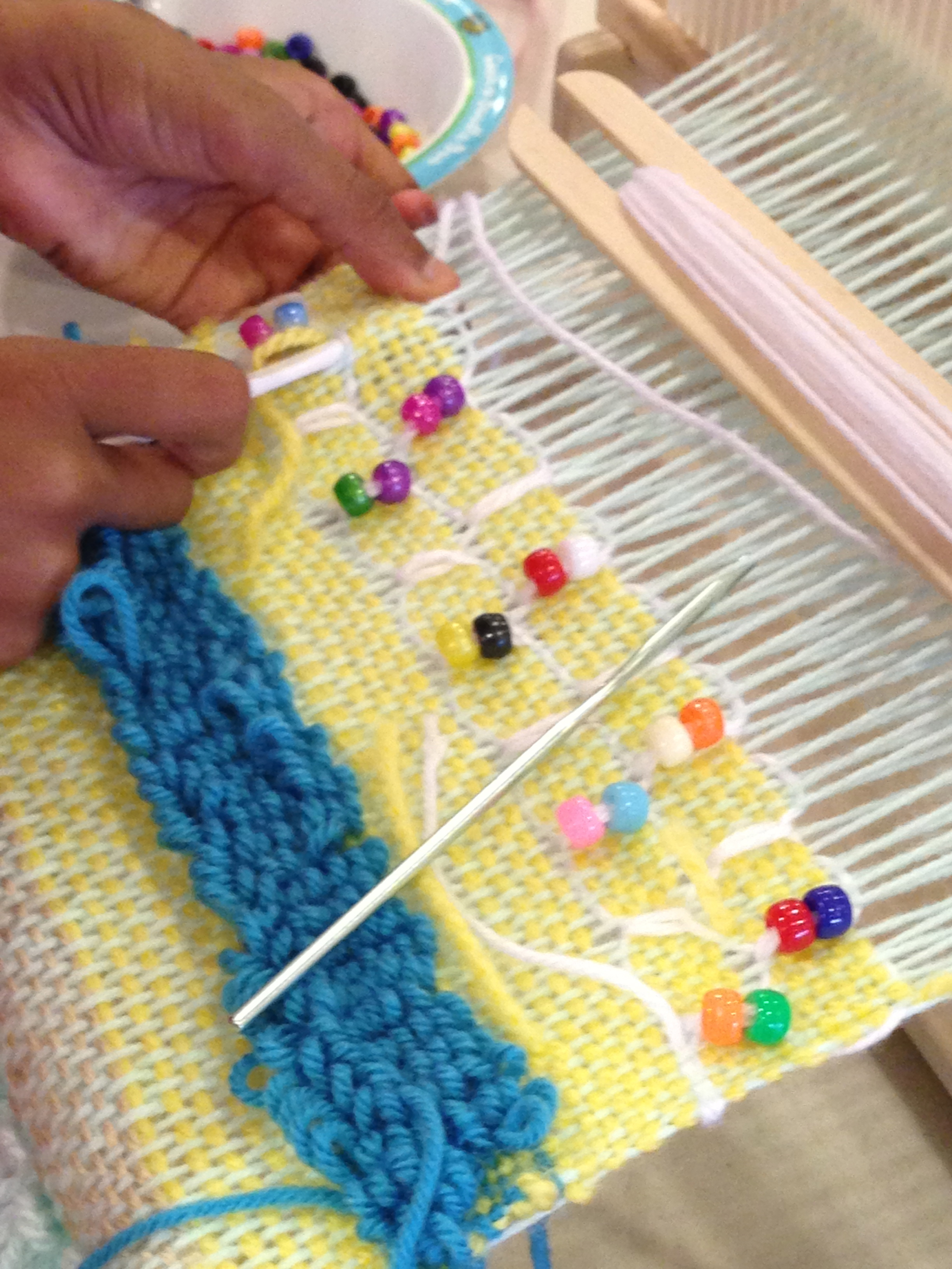 3rd grade weaving.