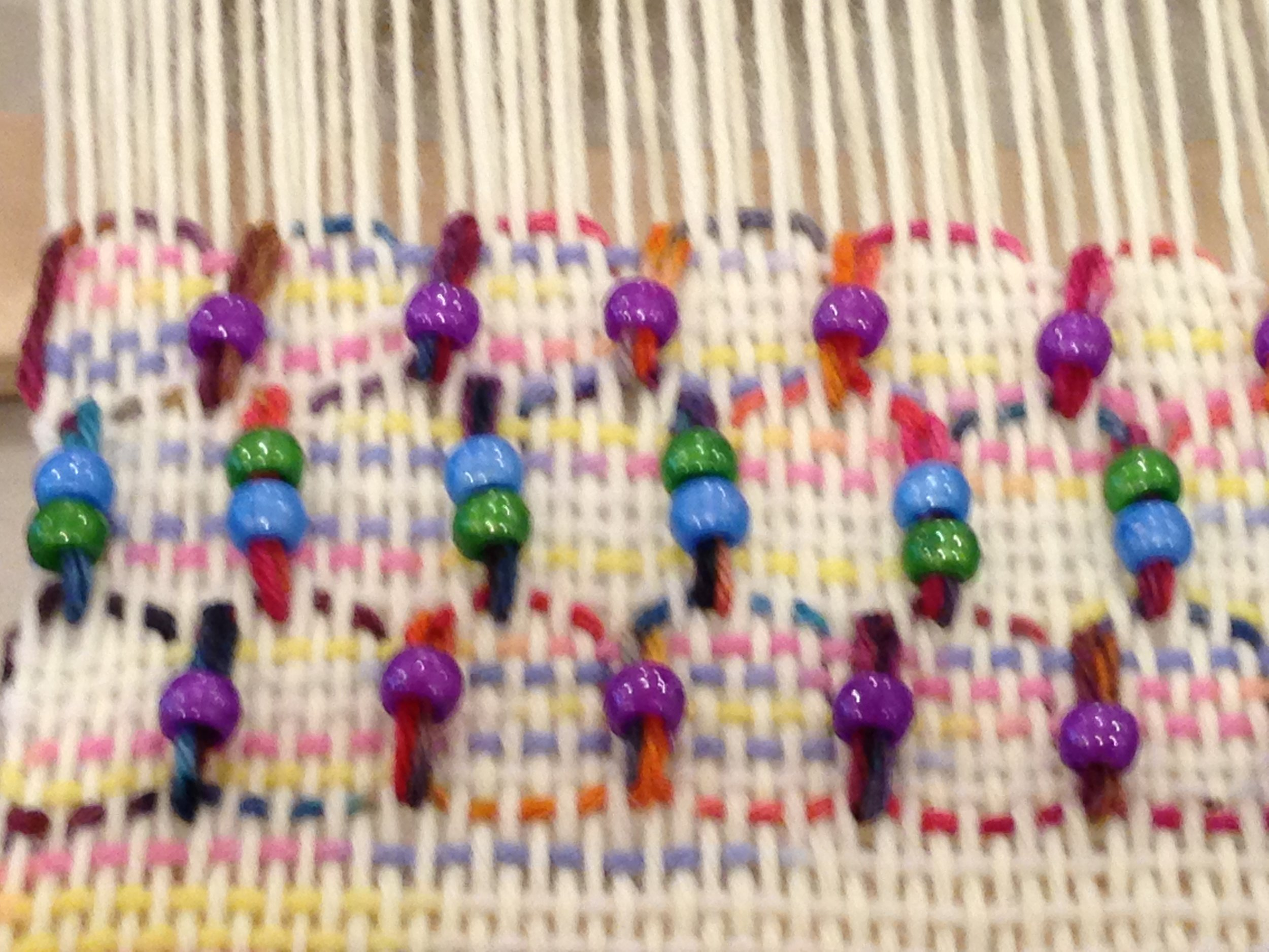 6th grade weaving.