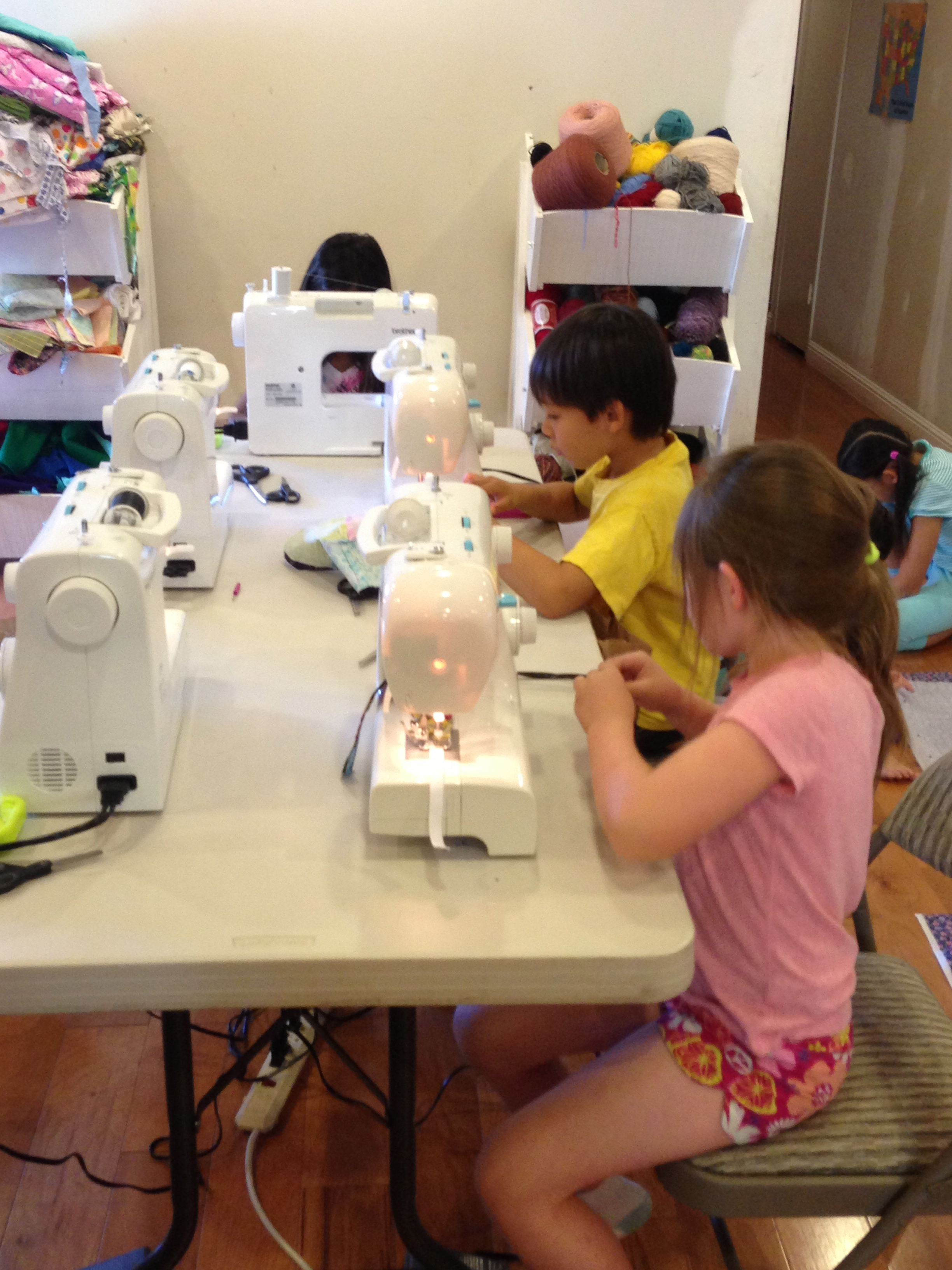 Lots of great sewing going on here!