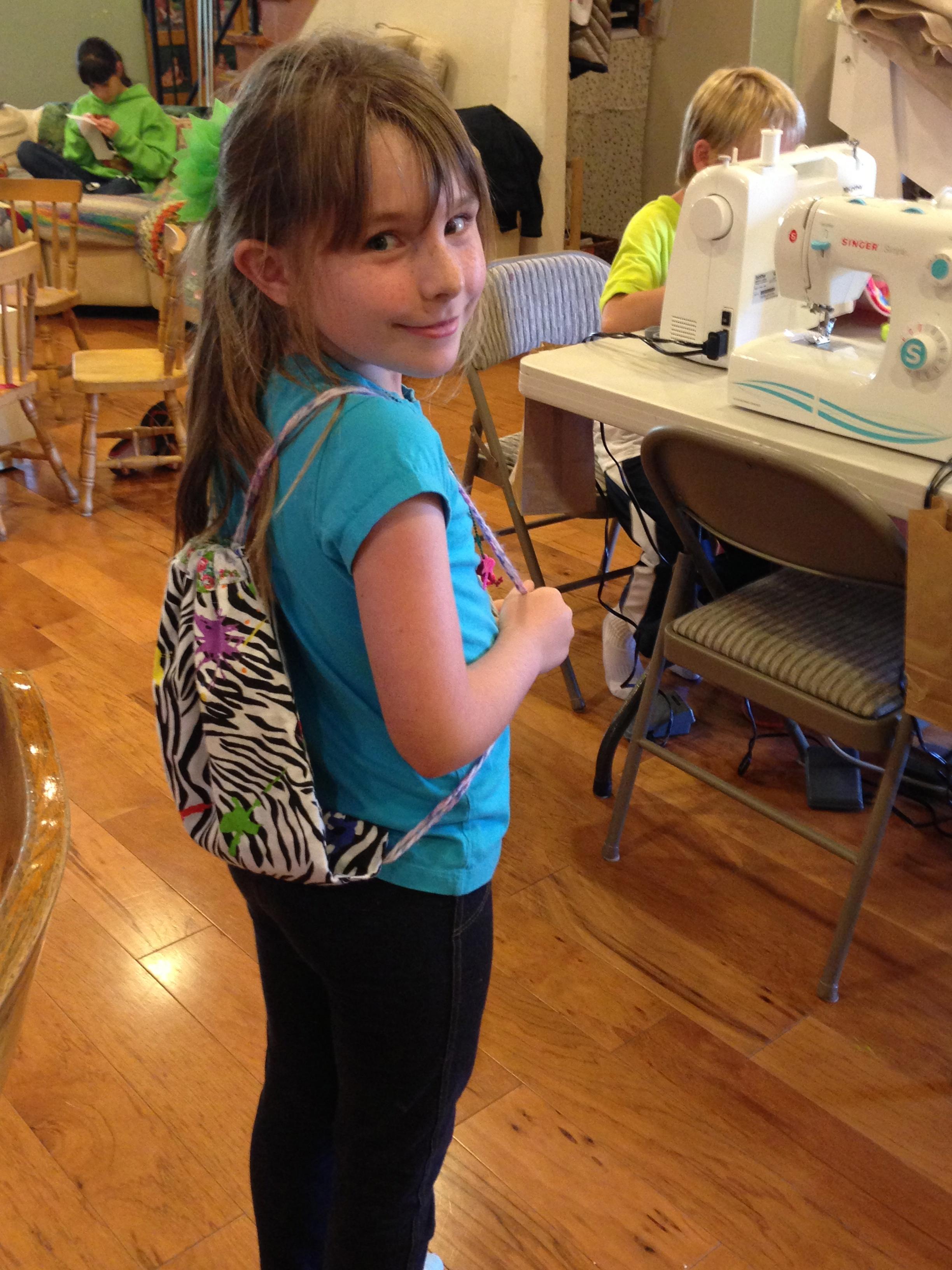 2nd grade backpack.