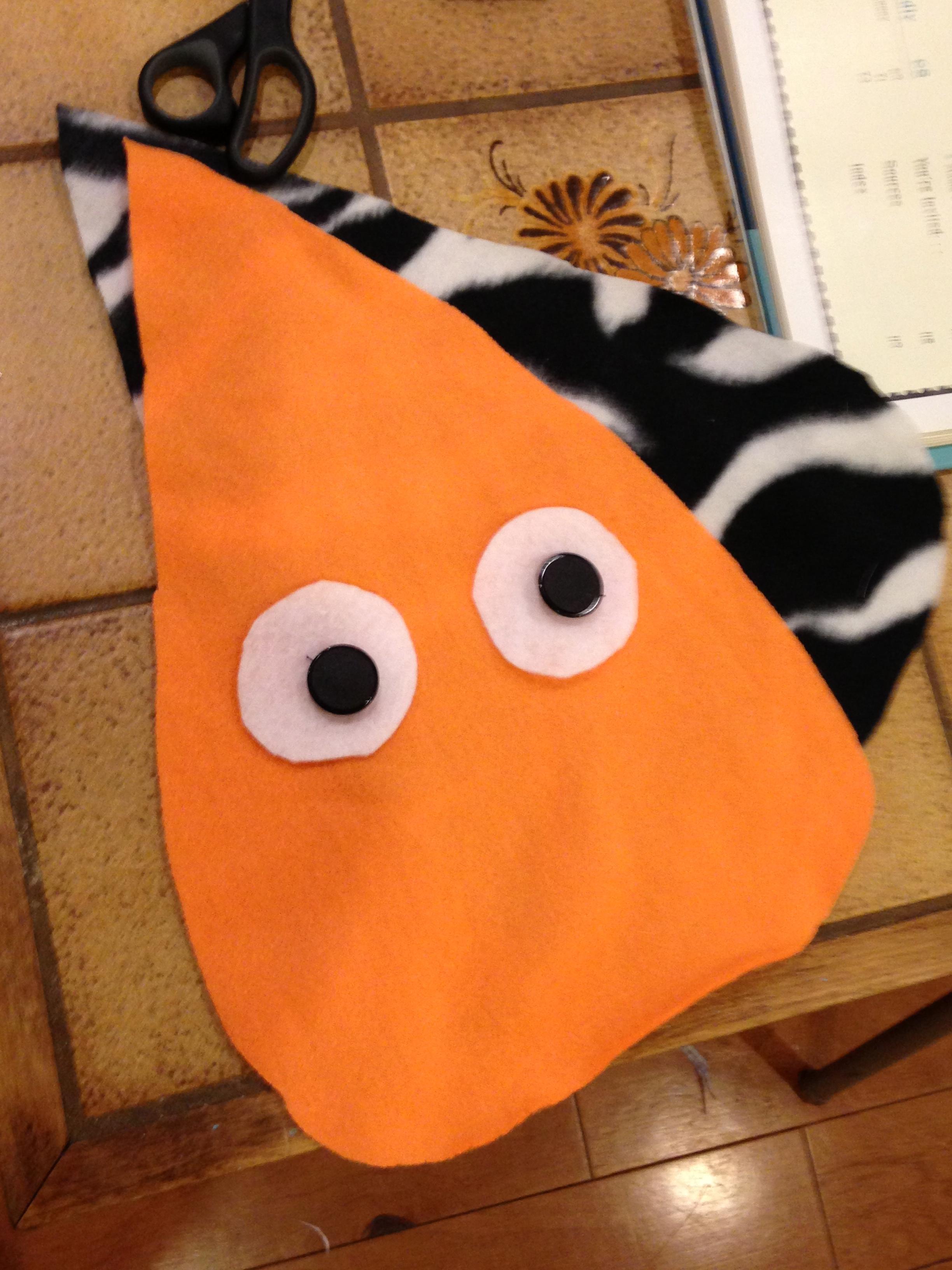 Owl pillow start.