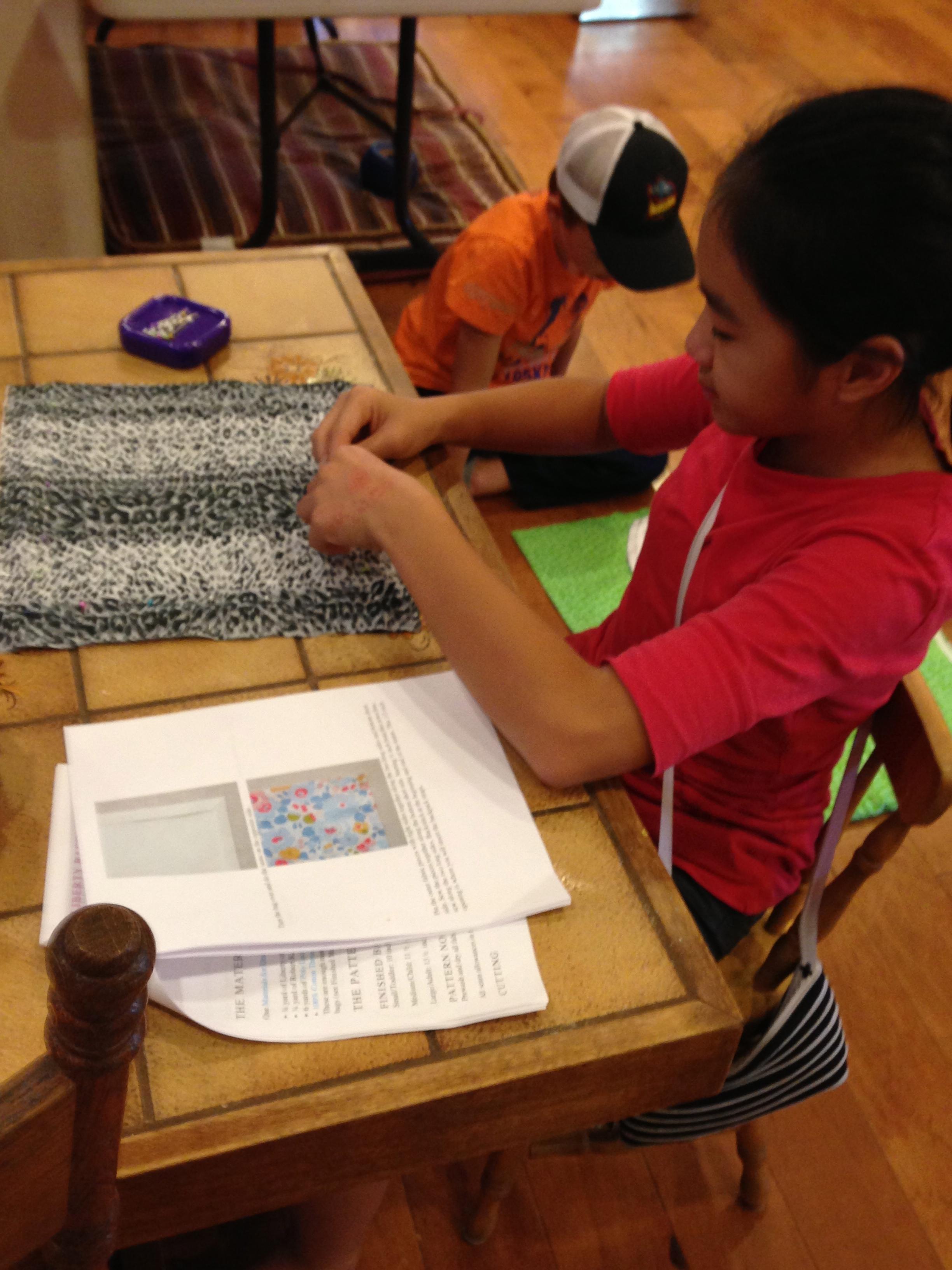 7th grader-drawstring backpack